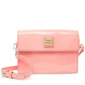 NWT Dooney & Bourke Flap Patent Leather Bag